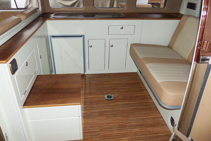 T2 Bay Interiors Vw Camper Interiors Camper