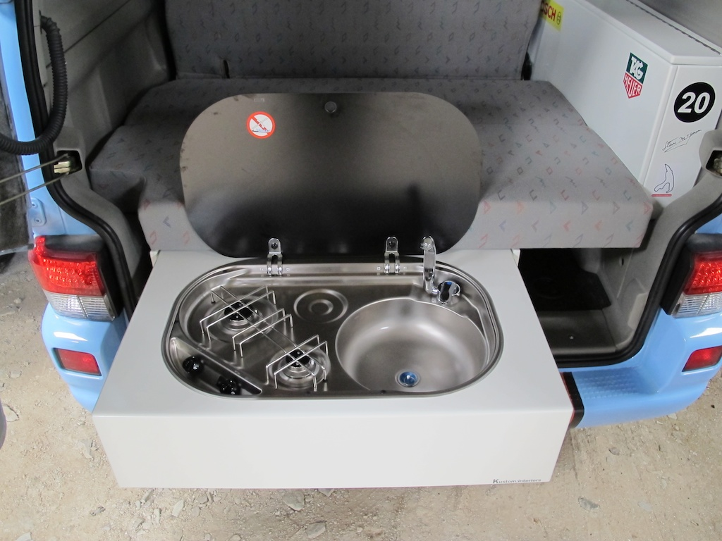 Finally Released Rear Cooker And Sink Cabinet Camper Interiors Conversions