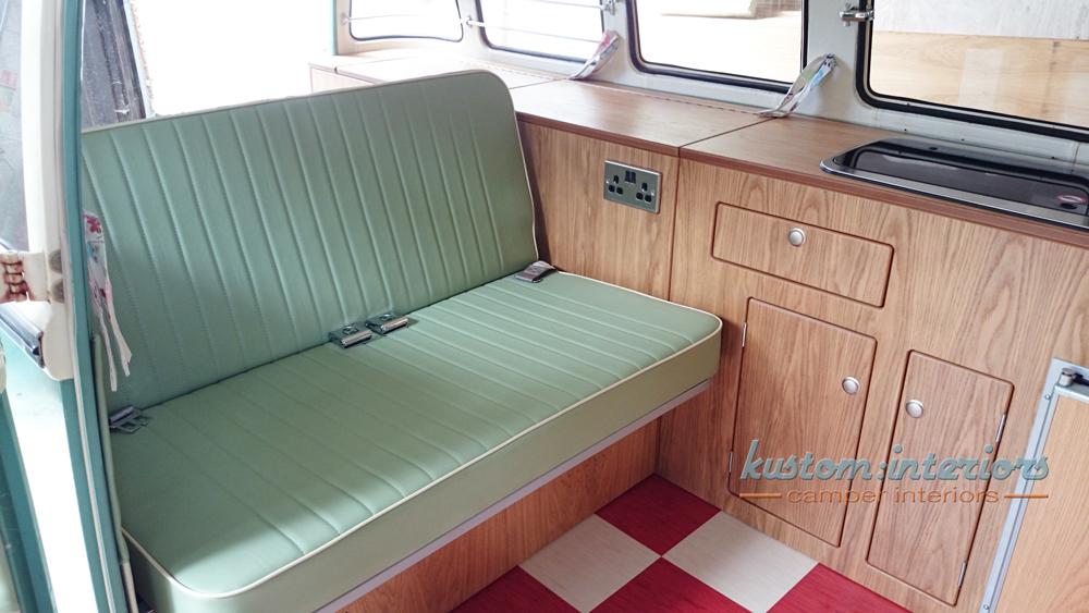 Kustom Interiors VW upholstery camper interiors