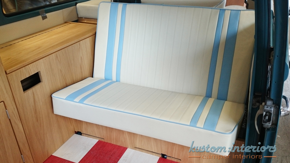 Kustom Interiors VW upholstery camper interiors bay window
