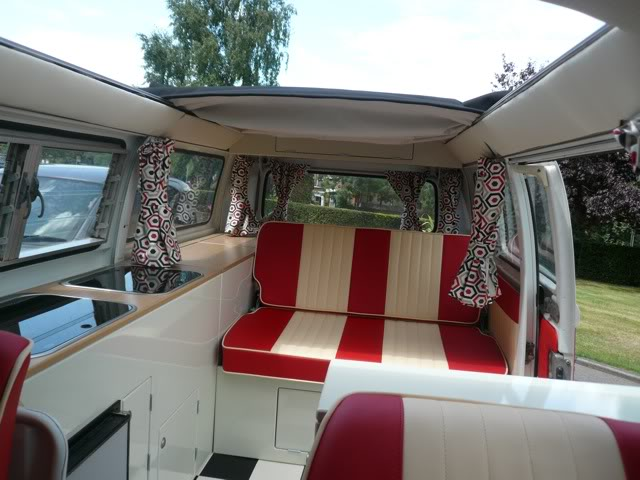 VW T2 New design Interior - SJS VW Camper Interiors Balmoral