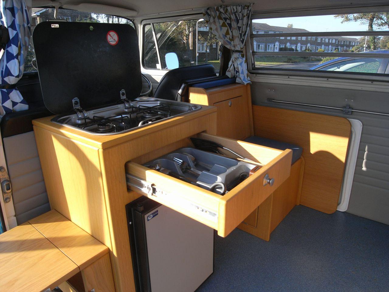 Bay Gets Custom Interior Vw Camper Interiors Camper