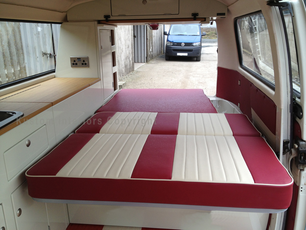 Kustom t2 bay paul 3 vw camper interiors camper for Campervan interior designs