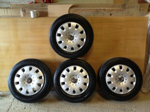 Vw Tyres and wheels package