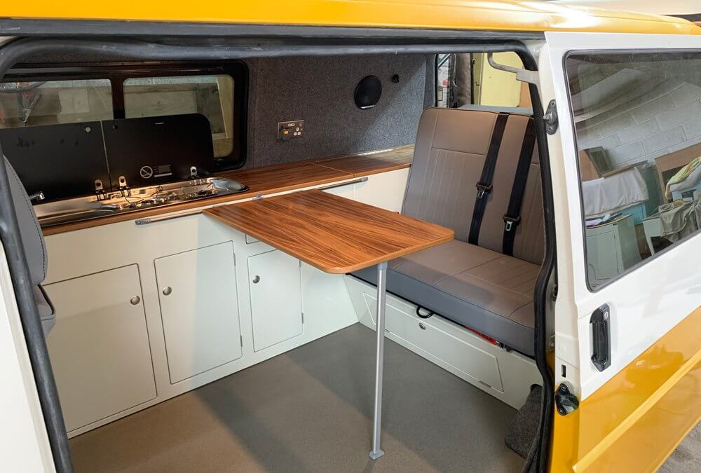 VW T4 Transporter Campervan project