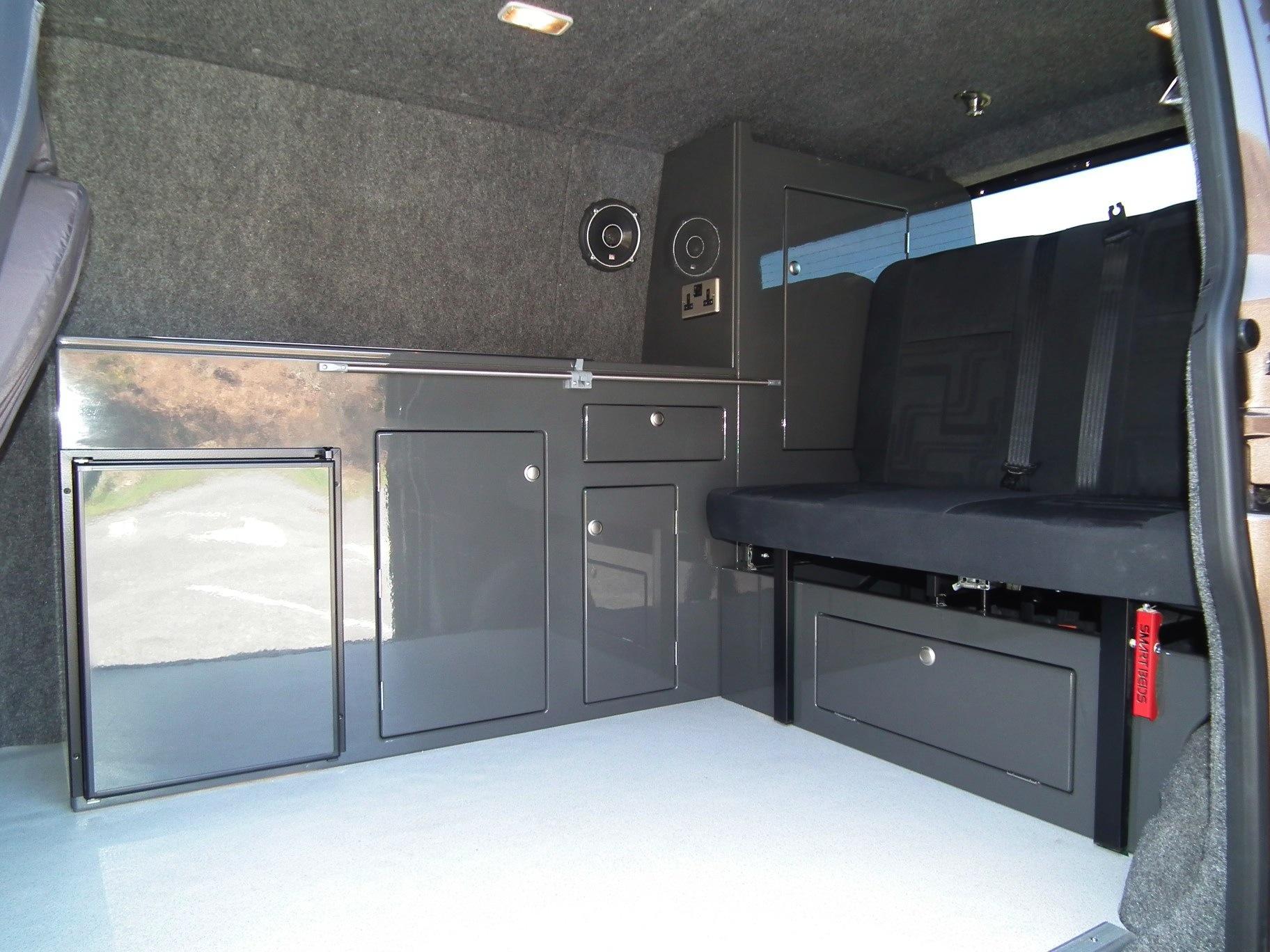 Kustominteriors Camperinterior T5 Vw Camper Interiors