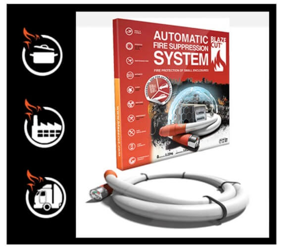 Blaze Cut automatic fire suppression system T3 in stock