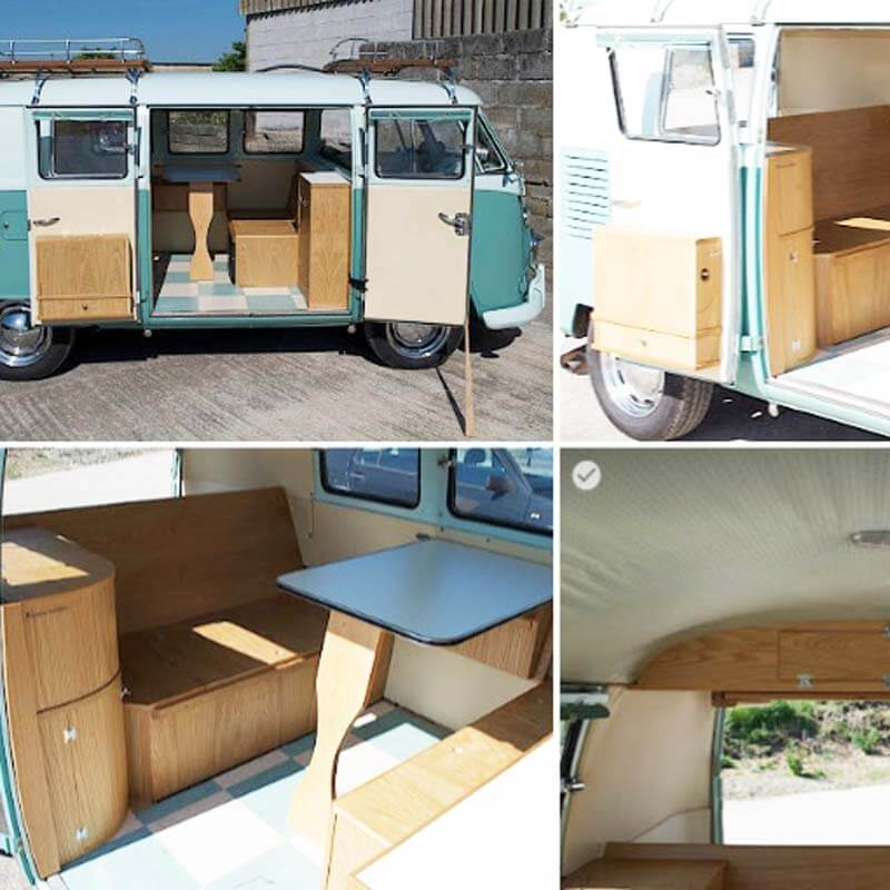 splitscreen Camper interior archive