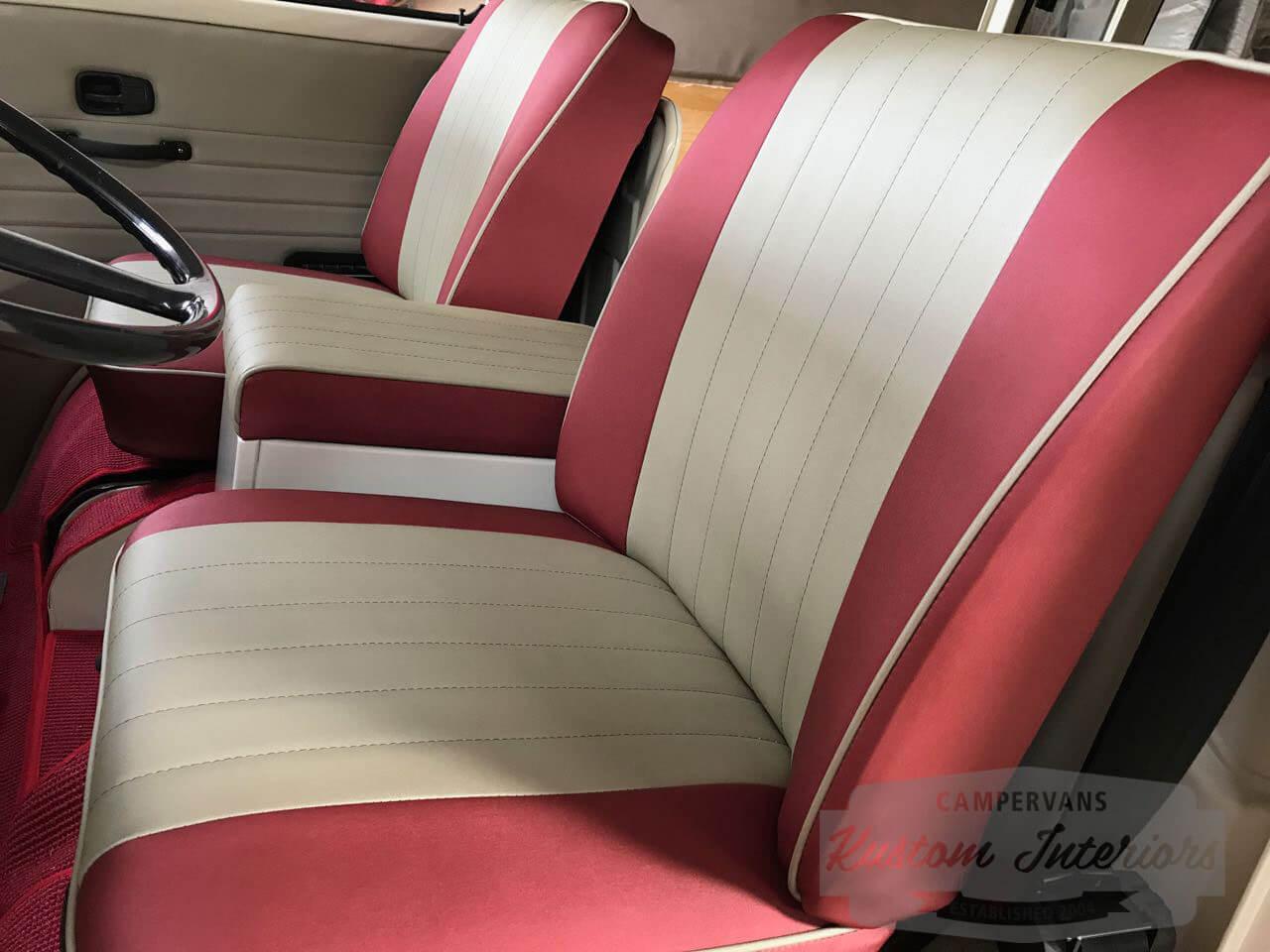 Kustom Interiors VW upholstery camper interiors splitscreen