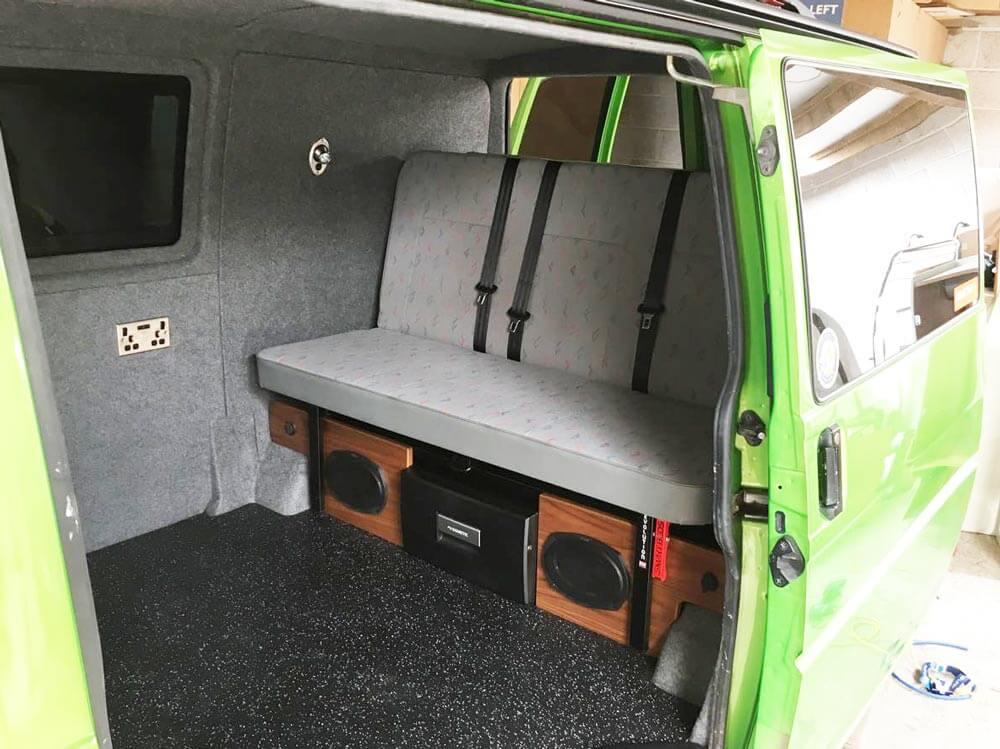 bed t4 width rockandroll smart roll rock vw camper interiors beds conversions