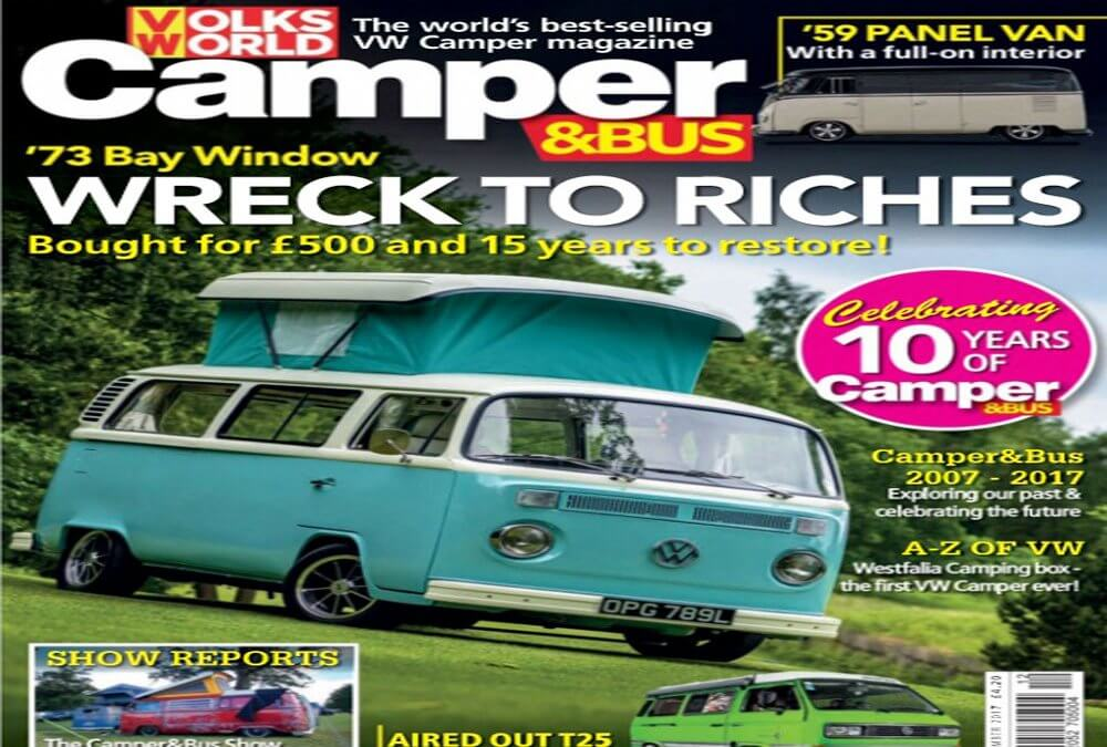 Ian's Wreck to riches features in Volksworld Camper & bus Magazine