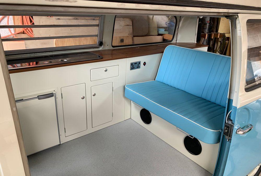 Classic Camper Interior From Kustom Interiors