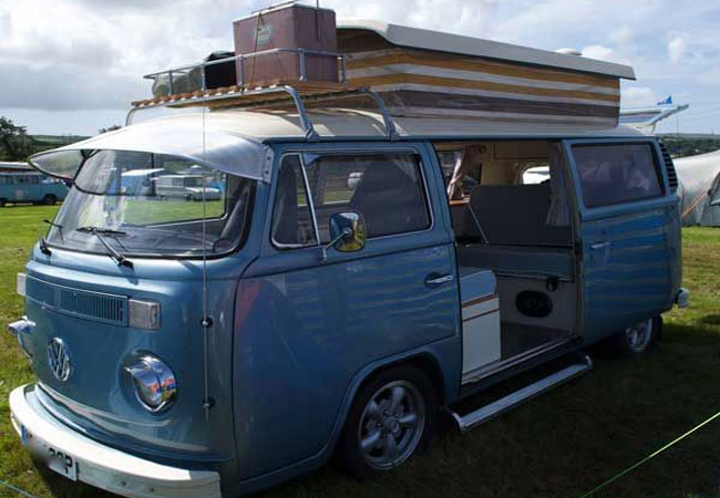 Custom bay featured in Camper and Commercial