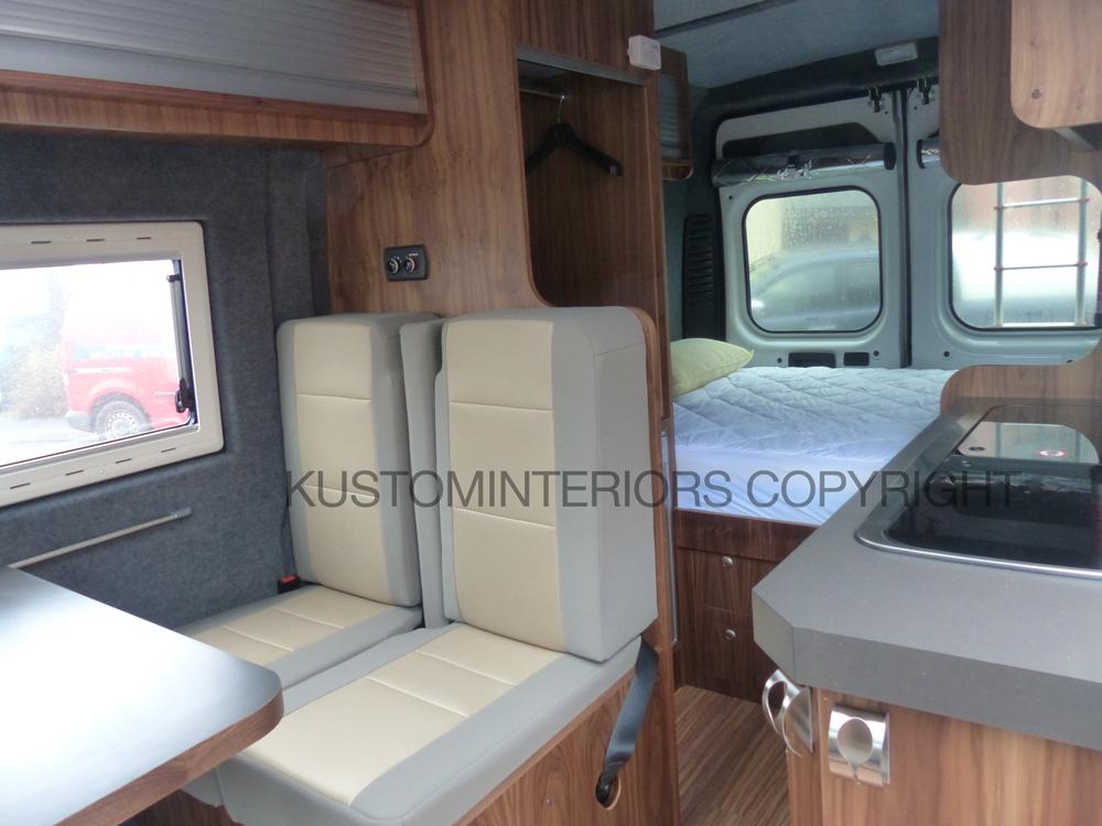 Kustominteriors Fiat Ducato4 Vw Camper Interiors
