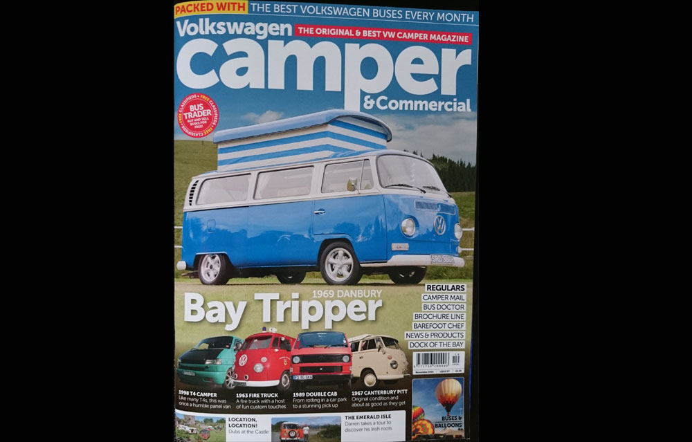 Camper and Commercial Magazine feature